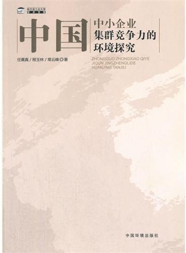 中国中小企业集群竞争力的环境探究