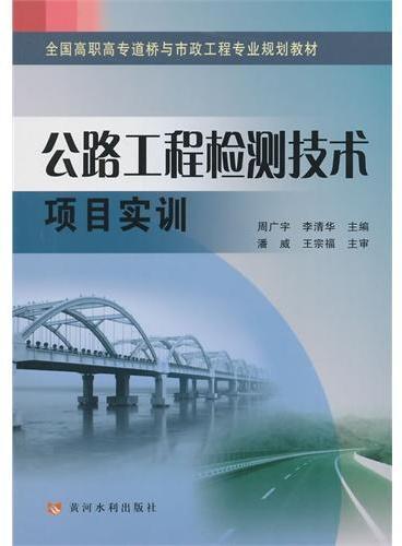 公路工程检测技术项目实训(全国高职高专道桥与市政工程专业规划教材)