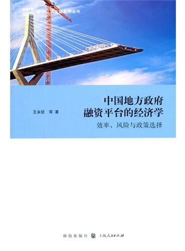 中国地方政府融资平台的经济学:效率、风险与政策选择