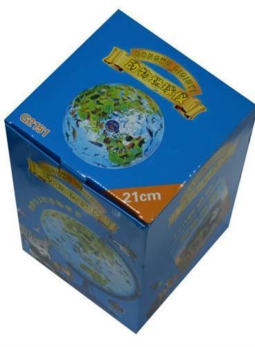 地球仪(21cm 少儿动物地球仪  烤漆支架)(国内首款21cm儿童动物地球仪 烤漆支架 170种动物全手绘 附赠精美动物图册,逐一介绍170多种动物 )