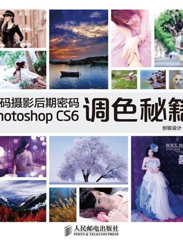 数码摄影后期密码Photoshop CS6调色秘籍(1DVD)