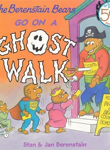 Berenstain Bears Go on a Ghost Walk, The 贝贝熊:万圣节幽灵 ISBN9780060573836