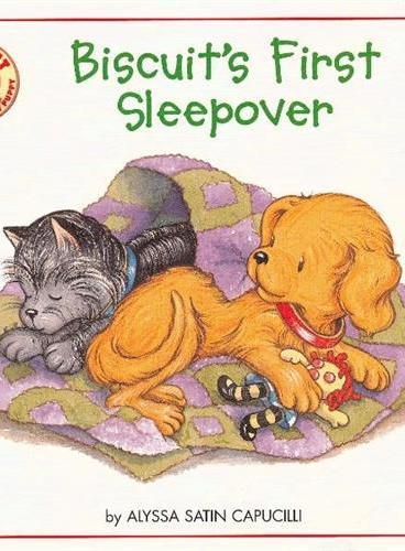 Biscuit's First Sleepover 小饼干第一次在外过夜 ISBN9780061128424