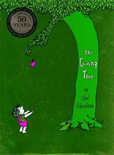 Giving Tree 40th Anniversary Edition Book with CD 谢尔·希尔弗斯坦经典绘本:爱心树(40周年纪念版,含CD) ISBN9780060586751