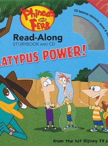 Read-Along系列:Phineas and Ferb 飞哥与小佛(书+CD) ISBN9781423164517