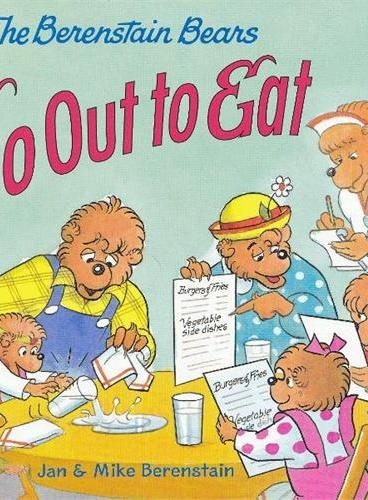 Berenstain Bears Go Out to Eat, The 贝贝熊:甜蜜的晚餐 ISBN9780060573935
