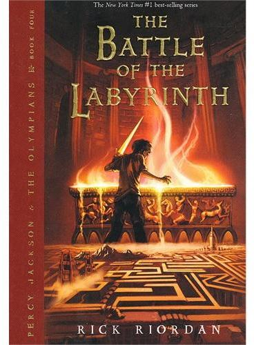 Percy Jackson Book Four: Battle of the Labyrinth, The 波西·杰克逊第四部:迷宫之战 ISBN9781423101499