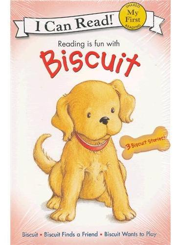 Biscuit's My First I Can Read Book Collection小饼干套装(I Can Read,My Fist Level)ISBN9780060589332