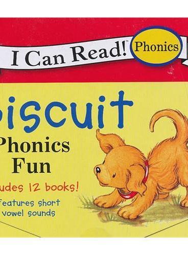 Biscuit Phonics Fun小饼干-自然发音法(I Can Read,My Fist Level)ISBN9780061432040