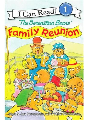 Berenstain Bears' Family Reunion, The贝贝熊的家庭聚会(I Can Read,Level 1)ISBN9780060583606