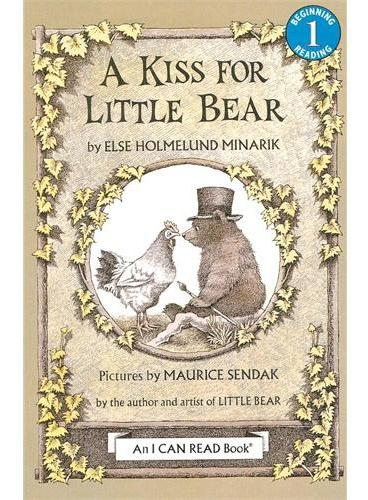 A Kiss for Little Bear给小熊的吻(I Can Read,Level 1)ISBN9780064440509