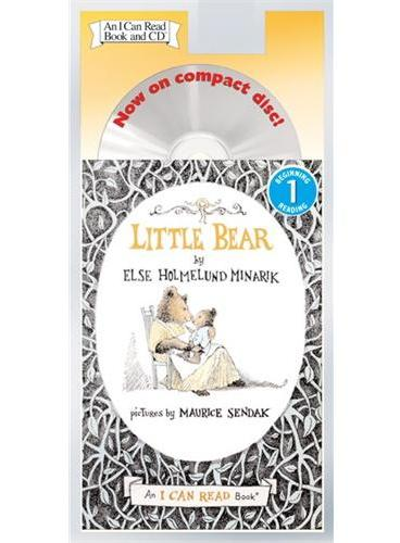 Little Bear Book and CD小熊(书+CD)(I Can Read,Level 1)ISBN9780060741075