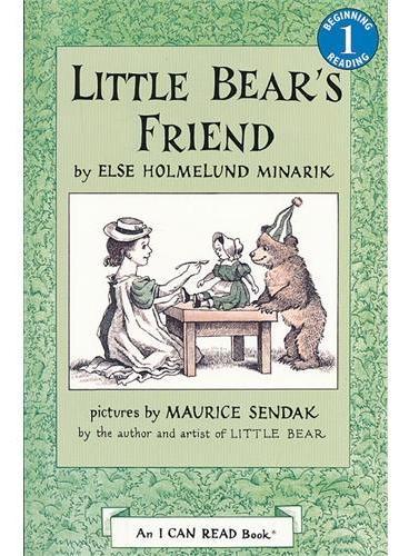 Little Bear's Friend Book and CD小熊的朋友(书+CD)(I Can Read,Level 1)ISBN9780060786892