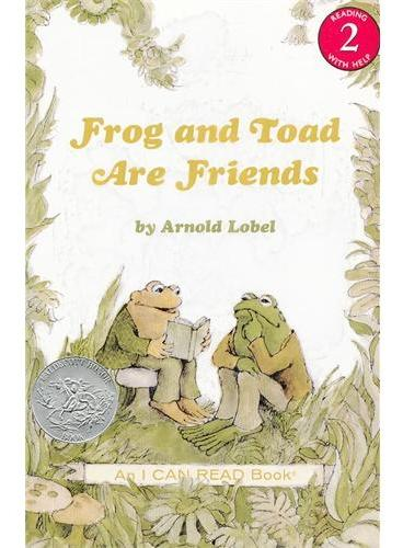 Frog and Toad Are Friends Book and CD青蛙和蟾蜍是朋友(凯迪克银奖,书+CD)(I Can Read,Level 2)ISBN9780060741068