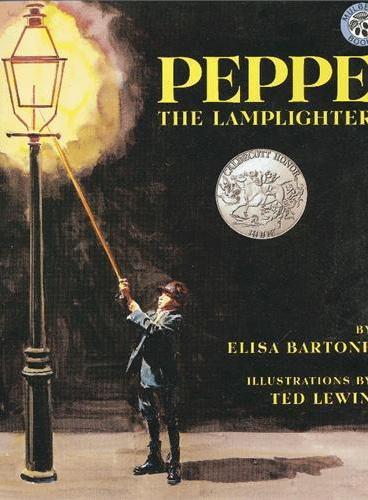 Peppe the Lamplighter [Paperback]灯夫皮波(凯迪克银奖,平装) ISBN9780688154691