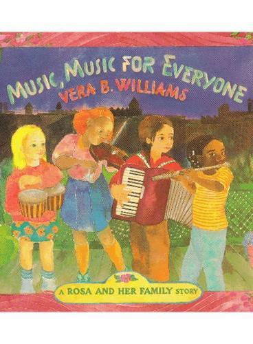 Music, Music for Everyone 橡树街乐团(美国图书馆协会推荐童书) ISBN9780688078119