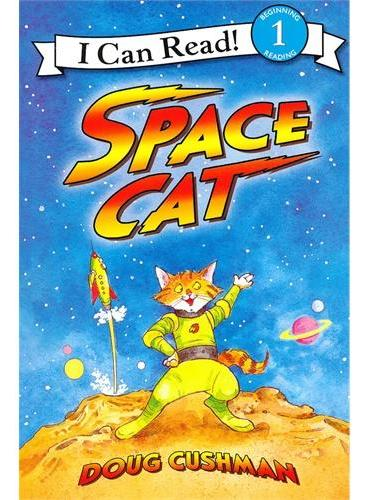 Space Cat 太空猫(I Can Read,Level 1)ISBN9780060089672