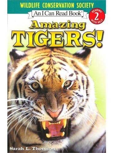 Amazing Tigers! 神奇的老虎!(I Can Read,Level 2)ISBN9780060544522