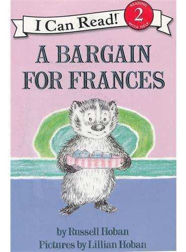 A Bargain for Frances Book and CD 给弗朗西斯便宜点儿(书+CD)(I Can Read,Level 2)ISBN9780061336119