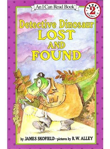 Detective Dinosaur Lost and Found 恐龙侦探:失物招领(I Can Read,Level 2)ISBN9780064442572