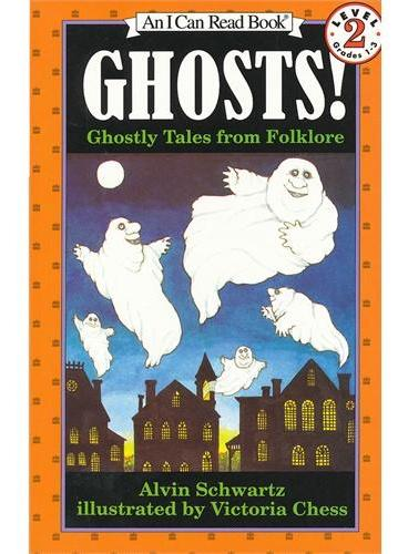 Ghosts! 有鬼!(I Can Read,Level 2)ISBN9780064441704