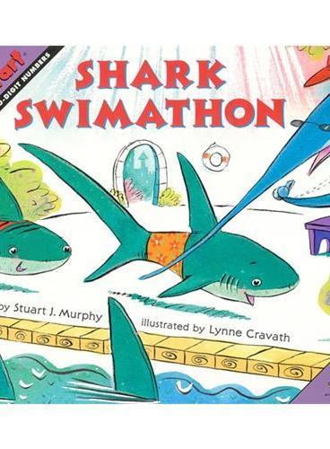 Shark Swimathon (Math Start) 数学启蒙:鲨鱼马拉松 ISBN 9780064467353