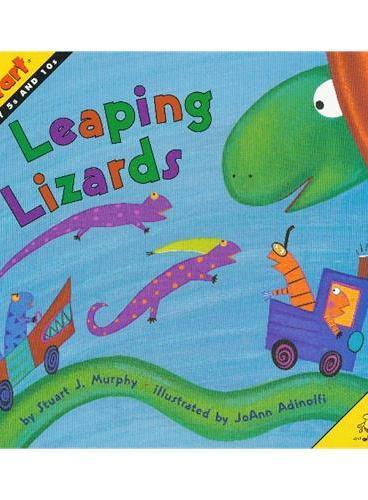 Leaping Lizards (Math Start) 数学启蒙:跳跳蜥蜴 ISBN 9780060001322