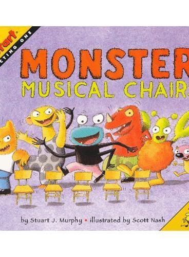 Monster Musical Chairs (Math Start) 数学启蒙:怪兽大风吹 ISBN 9780064467308