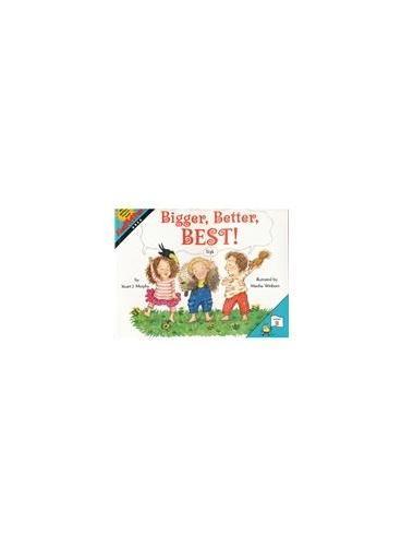 Bigger, Better, Best! (Math Start) 数学启蒙:猜猜谁会赢 ISBN 9780064462471