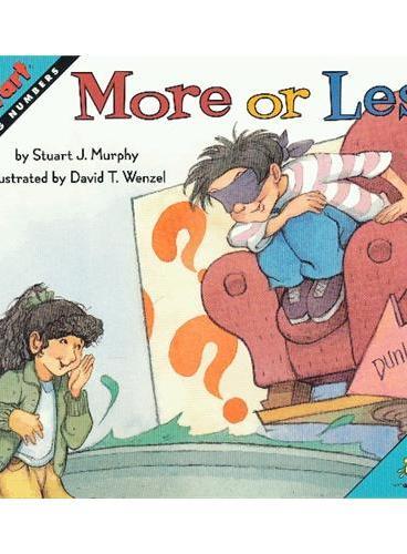 More or Less (Math Start) 数学启蒙:艾迪来猜龄 ISBN 9780060531676