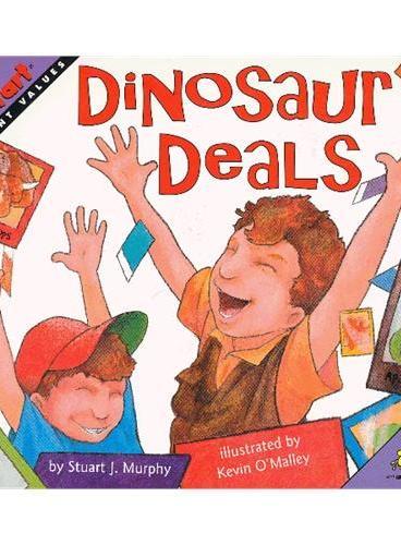 Dinosaur Deals (Math Start) 数学启蒙:恐龙卡片交易 ISBN 9780064462518