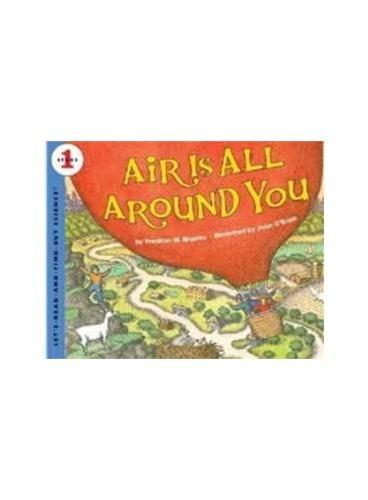 Air Is All Around You (Let's Read and Find Out)  自然科学启蒙1:你四周都是空气ISBN9780060594152