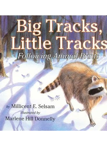 Big Tracks, Little Tracks (Let's Read and Find Out)  自然科学启蒙1:大脚印,小脚印ISBN9780064451949