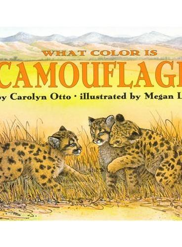 What Color Is Camouflage? (Let's Read and Find Out)  自然科学启蒙2:什么是伪装色?ISBN9780064451604