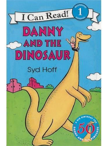 Danny and the Dinosaur Book and CD丹尼与恐龙(书+CD)(I Can Read,Level 1)ISBN9780060786878