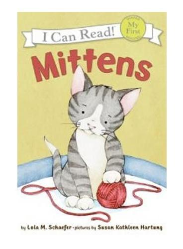 Mittens小猫咪咪(I Can Read,My Fist Level)ISBN9780060546618
