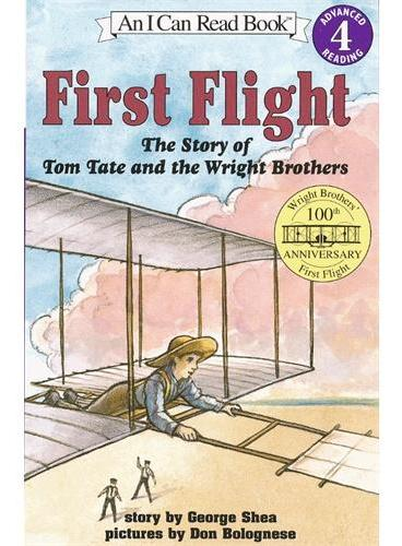 First Flight第一次飞行(I Can Read,Level 4)ISBN9780064442152