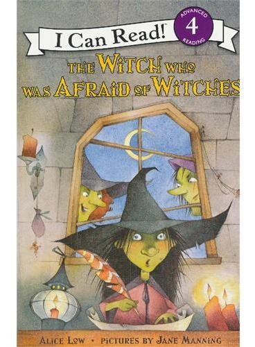 Witch Who Was Afraid of Witches, The害怕女巫的女巫(I Can Read,Level 4)ISBN9780064442558