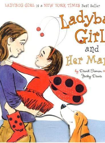 Ladybug Girl and Her Mama [Board Book] 瓢虫女孩和妈妈[卡板书]ISBN9780803738911