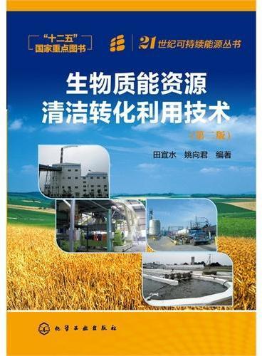 21世纪可持续能源丛书--生物质能资源清洁转化利用技术(第2版)