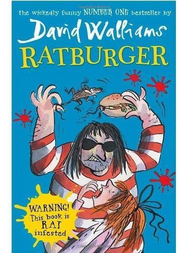 Ratburger 大卫·少年幽默小说系列最新作品:鼠堡包(平装) ISBN9780007453542