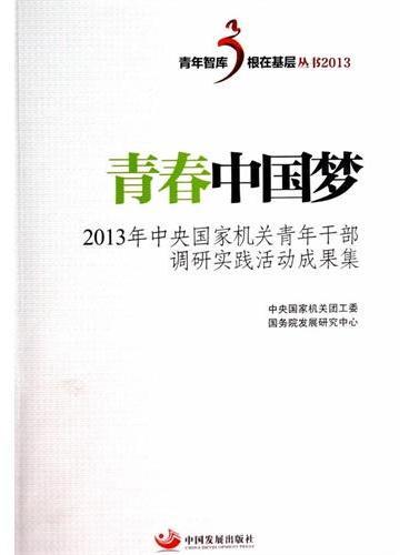 青春中国梦——2013年中央国家机关青年干部调研实践活动成果集