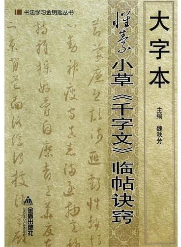 大字本怀素小草《千字文》临帖诀窍·书法学习金钥匙丛书