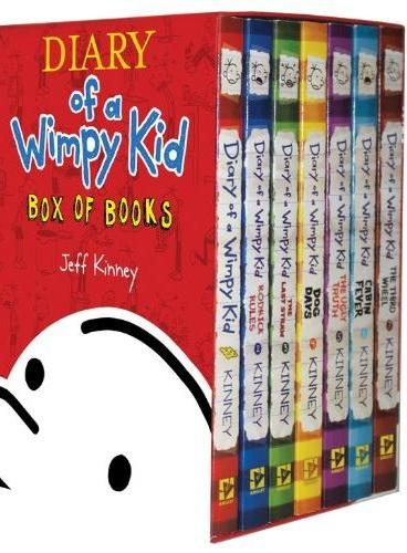 Diary of a Wimpy Kid(Boxed Set Books #1-7) 小屁孩日记套装(美国版,1-7)ISBN9781419710698