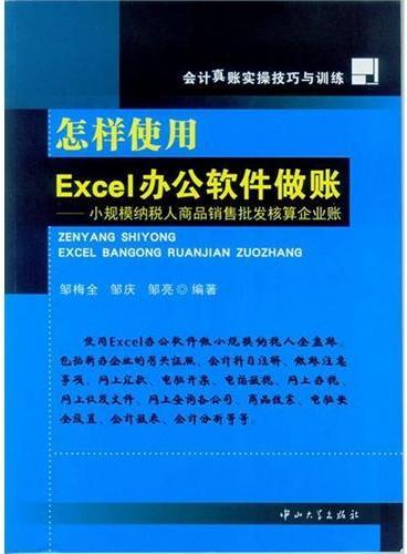 怎样使用Excel办公软件做账