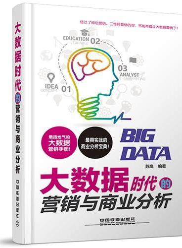大数据时代的营销与商业分析:最接地气的大数据营销手册、最具实战的商业分析宝典!