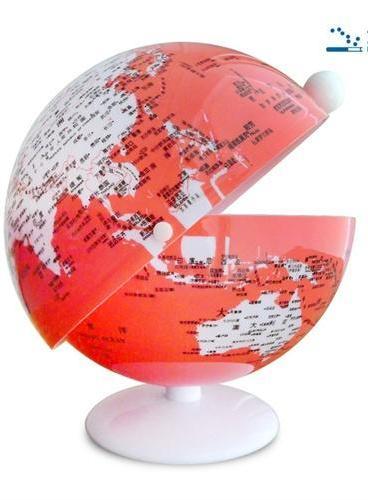 地球仪(14cm中文版糖果盒 4色)