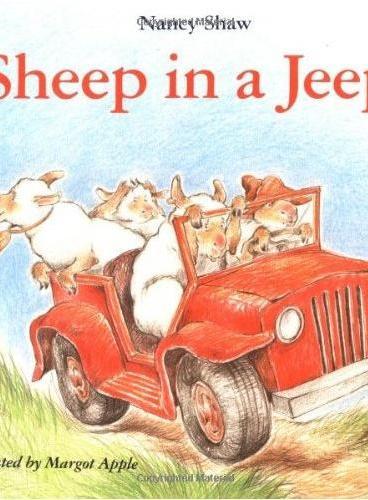 Sheep in a Jeep 吉普车上的绵羊 ISBN9780395470305