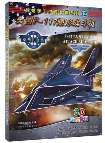 超炫手工仿真军模系列—美国F-117隐形战斗机