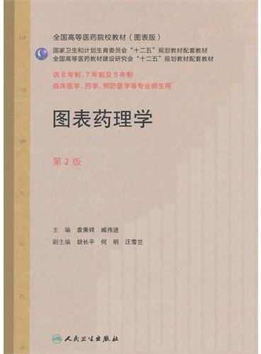 图表药理学(第2版/七年制配教)